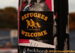 Refugees_Welcome_mixed_CC-BY_Daniel_Mueller